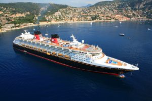 The Disney Magic transports guests to Villefranche, a glittering retreat on the French Riviera that immerses guests in the romance of the region and opens the door to exciting destinations such as Nice, Monte Carlo and Cannes. As part of the European summer season, the Disney Magic sails to Villafranche, France. (Disney)