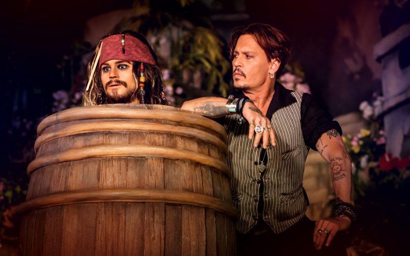 Johnny Depp. Photo by © Christophe Guibbaud / Disneyland