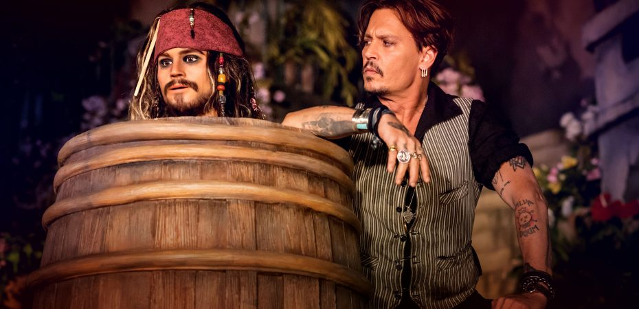 Johnny Depp. Photo by © Christophe Guibbaud / Disneyland